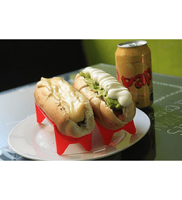 As luco + hot dog italiano + bebida lata