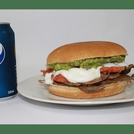Churrasco Italiano + bebida lata