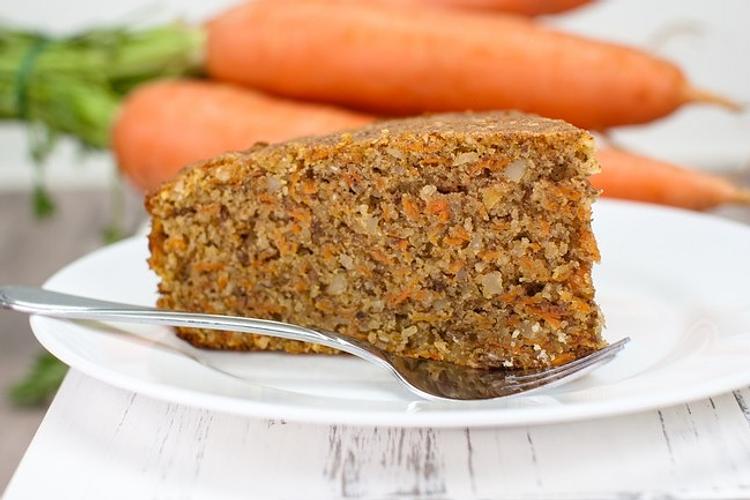 Queque de zanahoria sin gluten