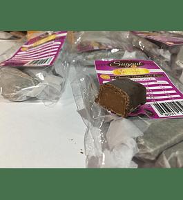 Calugas Bañada en Chocolate Bitter