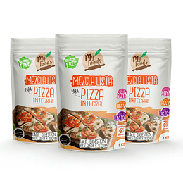 Mezcla lista para Pizza Integral