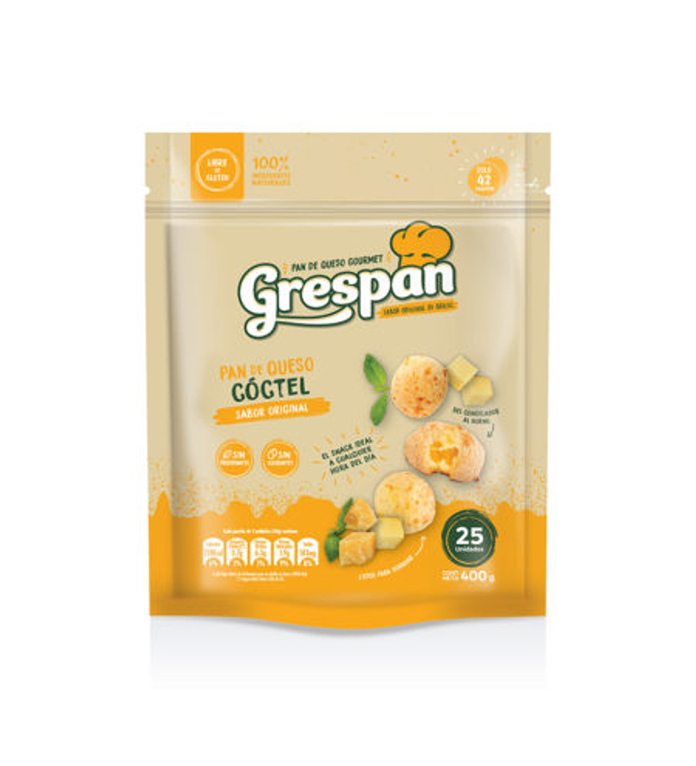Pan de Queso Cóctel sabor Original