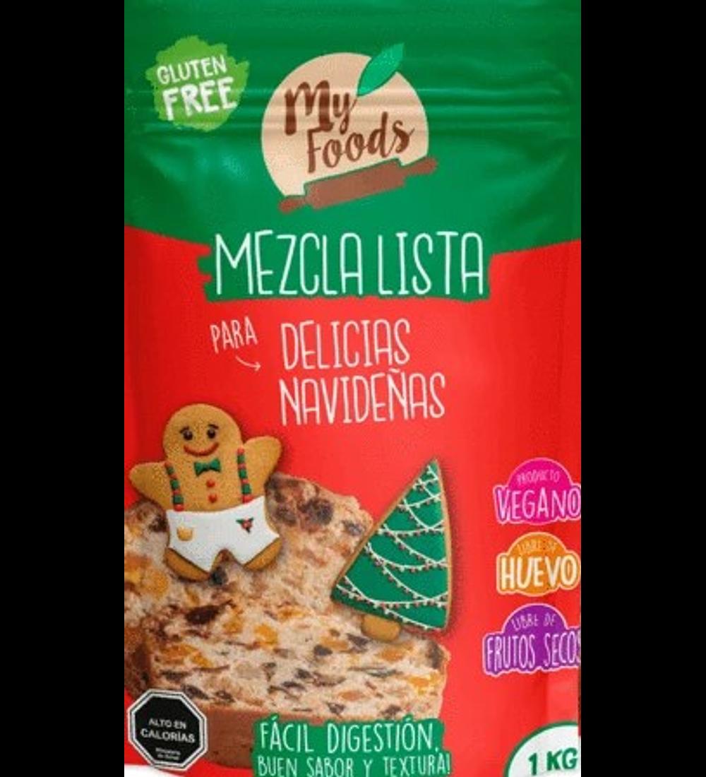 Mezcla Lista Delicias de Navideñas