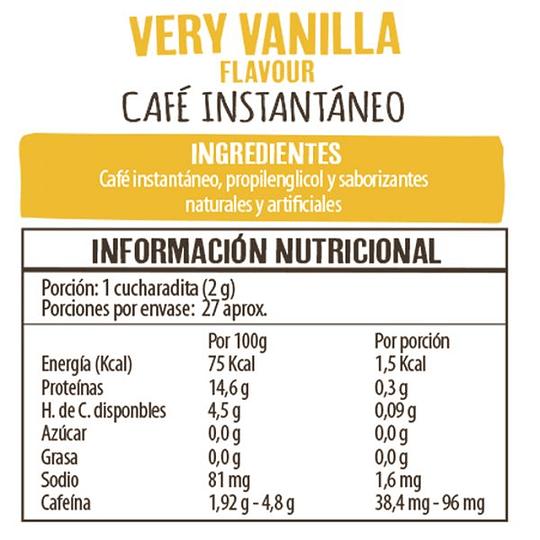 Cafe Very Vainilla