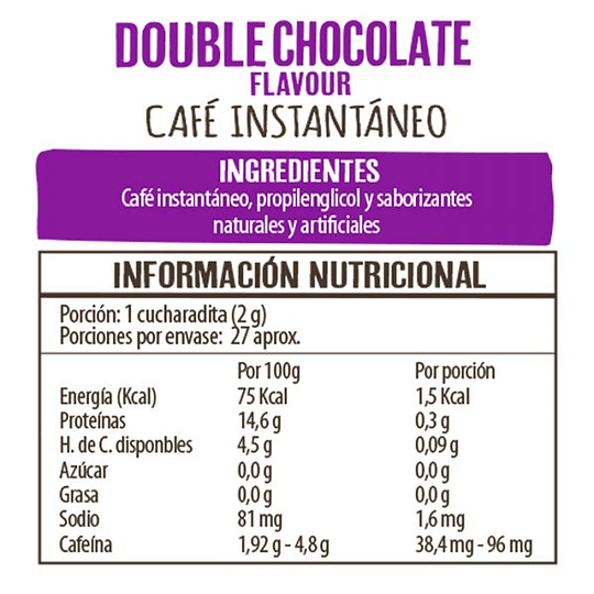 Cafe Double Chocolate