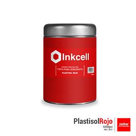 Tinta Plastisol Rojo