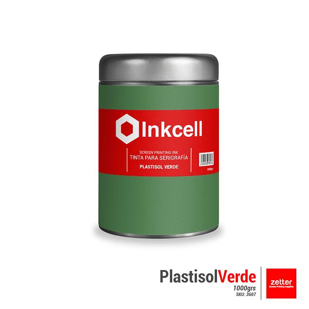 Tinta Plastisol Verde