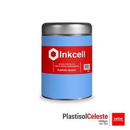 Tinta Plastisol Celeste