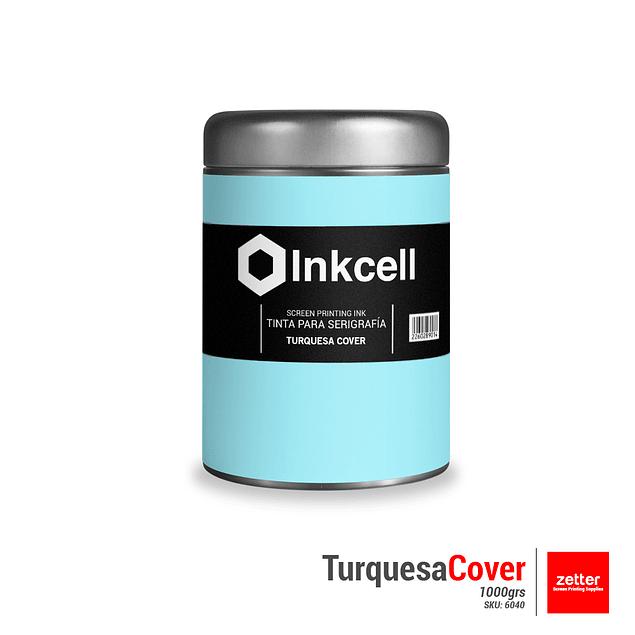 Tinta Base al Agua Turquesa Cover