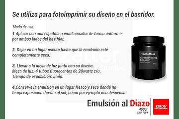 Emulsionando con PhotoMask WR