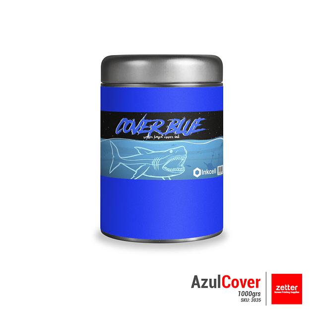 Tinta Base al Agua Azul Cover