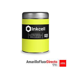 Tinta Base al Agua Amarillo Fluor Directo