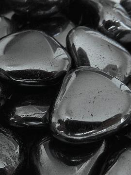 Hematite -1 unidad de 1,5 x 1,8cm