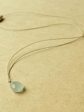 Collar Fluidez - Aguamarina - Minimal