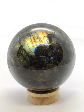 Esfera de Labradorita - 1 unidad de 6 cm diámetro