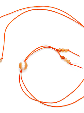 Collar Frecuencia Rayo Naranja