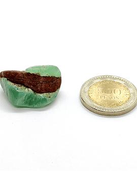 Crisoprasa - 1 unidad de 2 x 2,5 cm