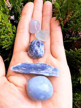 Cristales  Frecuencia Azul