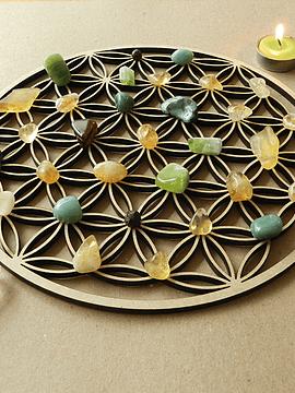 Set Mandala  Abundancia - Grande
