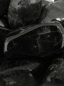 Turmalina Negra tamboreada