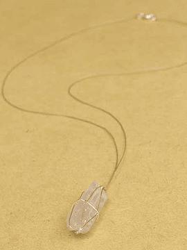 Collar Confiianza - Kunzita