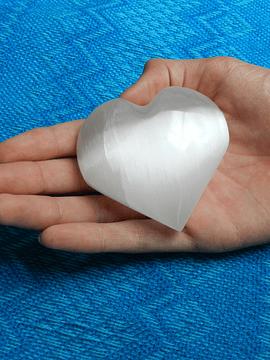 Corazón Selenita Grande