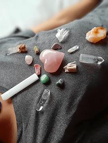 Terapia con  Cristales - Sesión Presencial