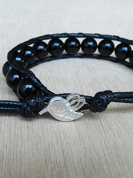 Pulsera Protección - Turmalina Negra