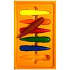 Crayones de Colores Gota 6 colores.