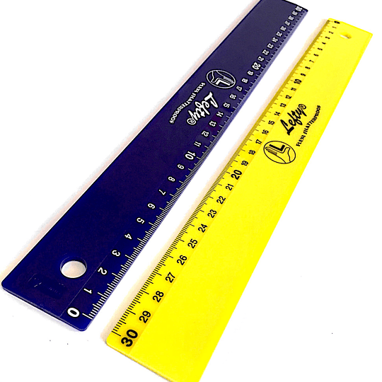Regla KUM L3-Flexi. 30 cm