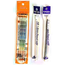 Repuestos para lápiz portamina Yoropen