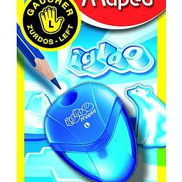 Sacapuntas Maped Igloo para Zurdos